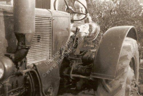 Ilmari Mäkelän Munktell-traktori