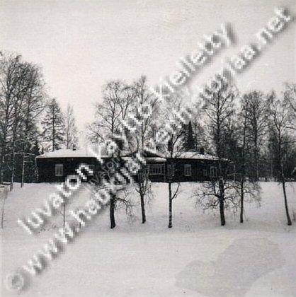 Pakkasen päärakennus ennen vuotta 1954