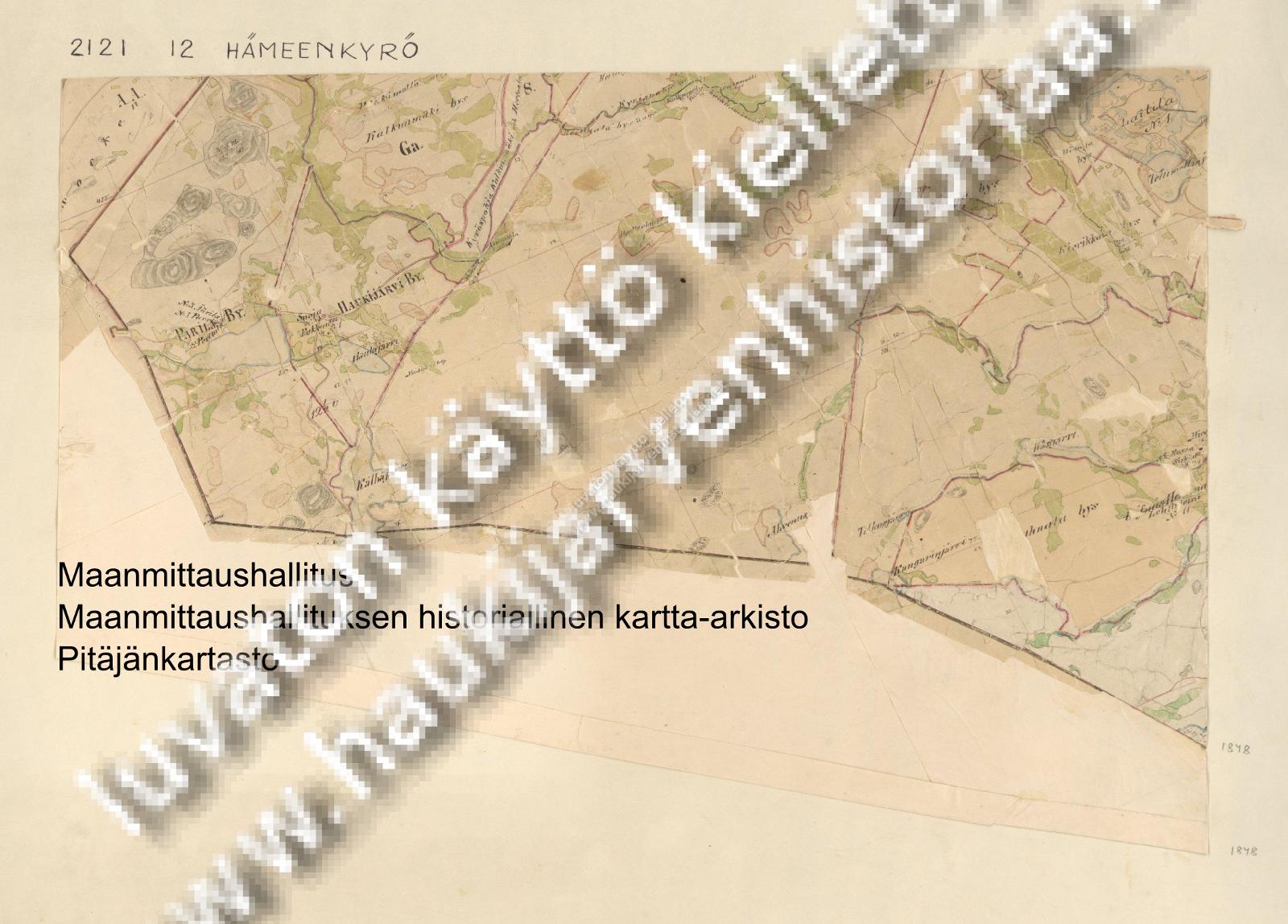 Kartta 1848
